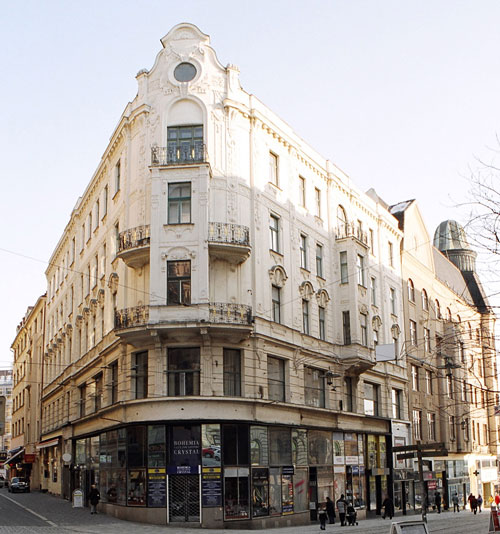 Dům Služeb ODEON - Josefská ulice