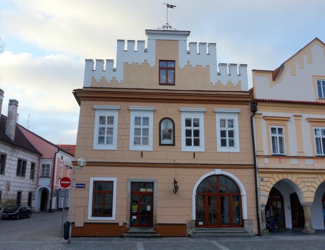 Penzion Vratislavský dům v Třeboni