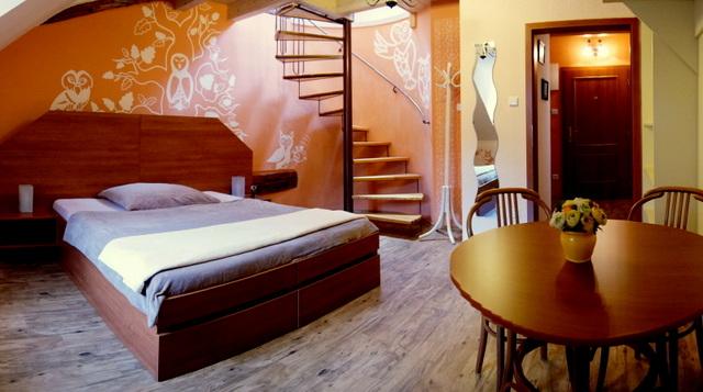 Pokoj v penzionu Vratislavský dům